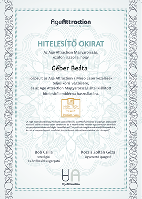Age attraction certificate